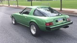 1980 Mazda RX-7 walk around