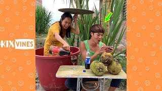 Funny videos 2019 ✦ Funny pranks try not to laugh challenge P105