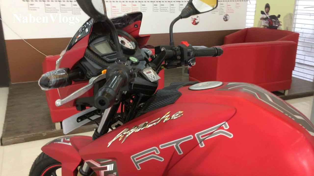 New TVS Apache RTR Matte Red review 2017 NabenVlogs by NabenVlogs