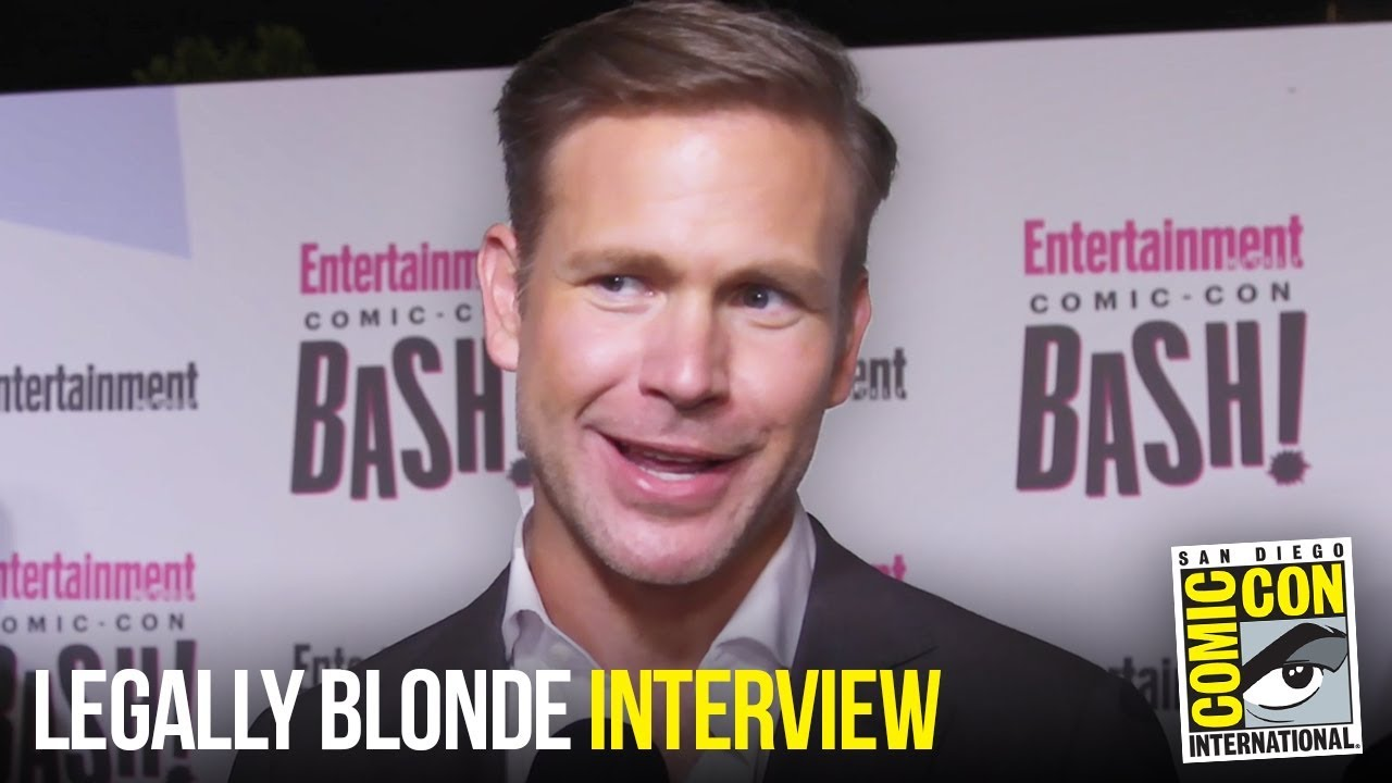 Matthew Davis Says there is NO Legally Blonde 3 Without Warner at EW Party Comic Con 2018