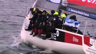Etape Breskens-Dieppe du Tour de France à la voile 2013