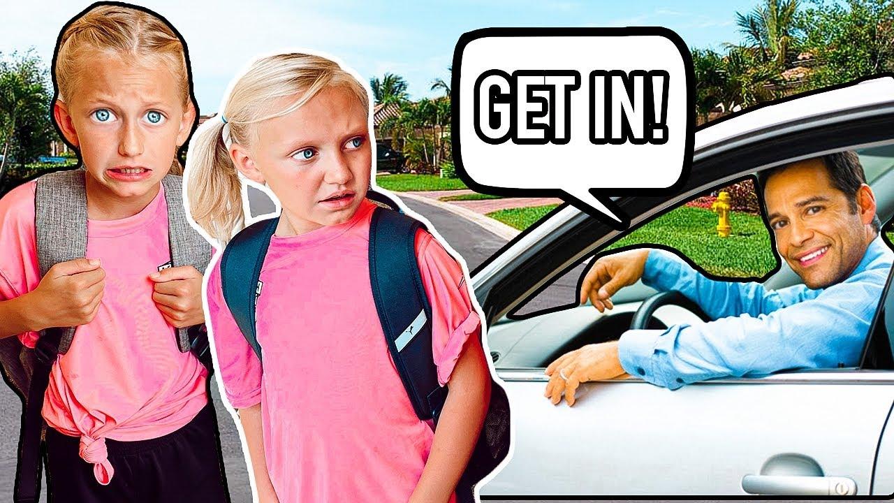STRANGER DANGER!! *RUN!!* | Stranger Safety with 16 KiDS!