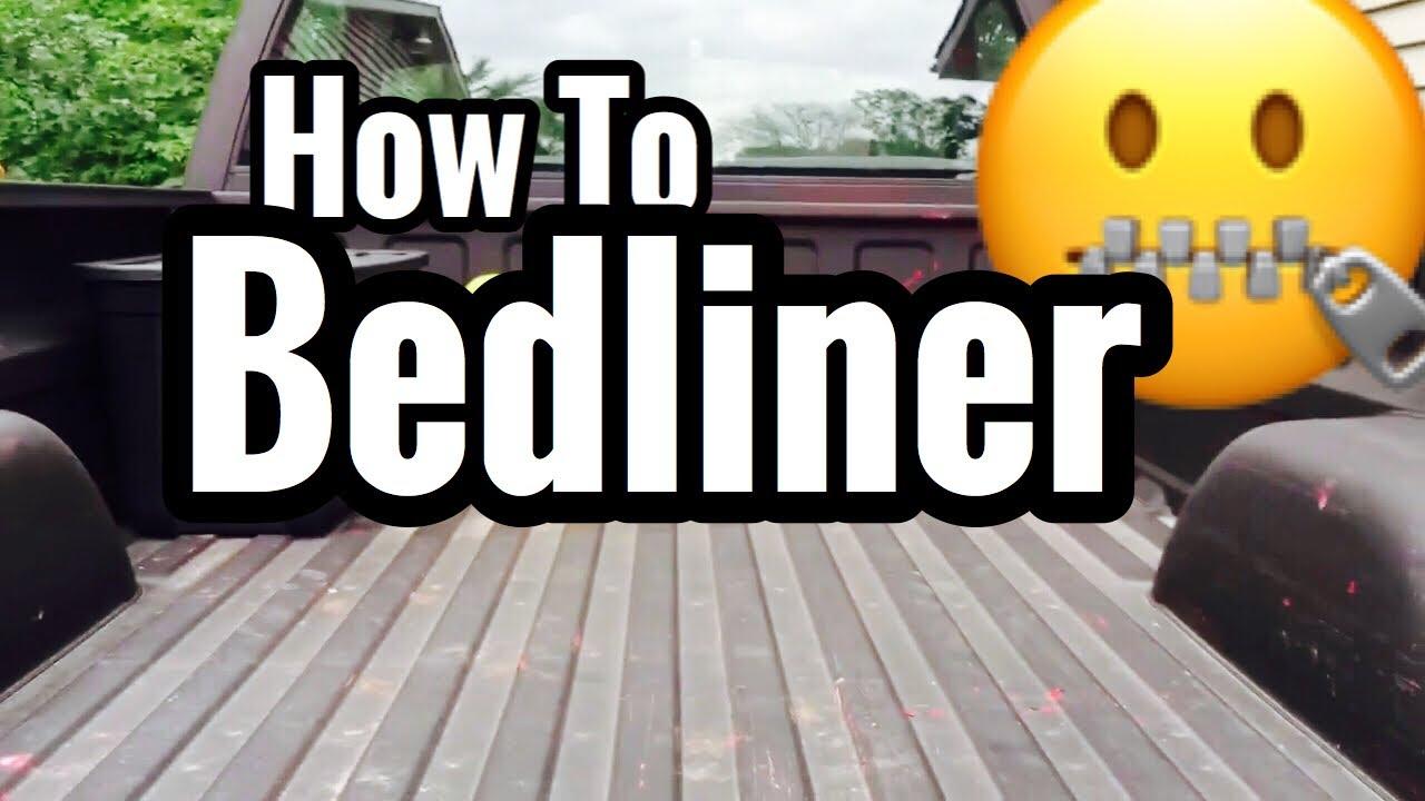 Spray in bedliner paint do it yourself tutorial youtube solutioingenieria Images