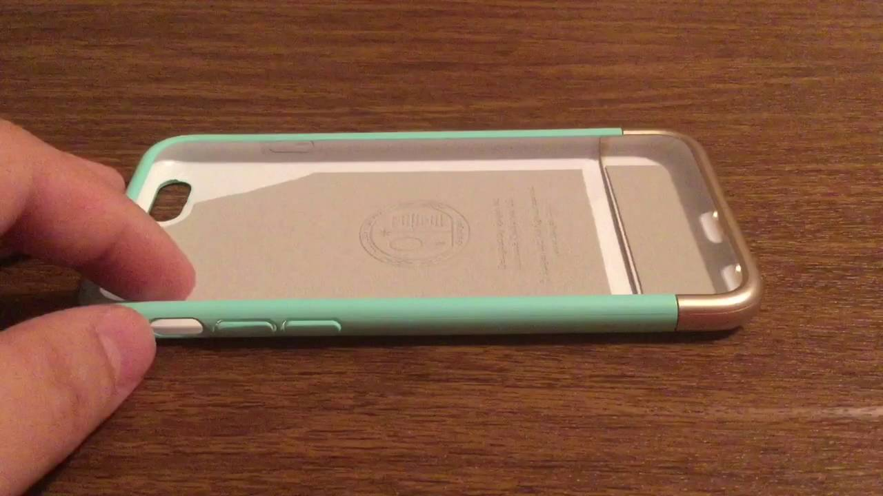 Spigen iPhone 6 6S Style Armor Case Review with Easy to Slide Two Piece  Design 506f1ade473ab