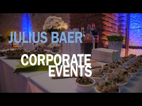 How we made it! Julius baer corporate event