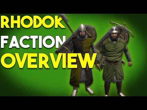 Complete Rhodok Faction