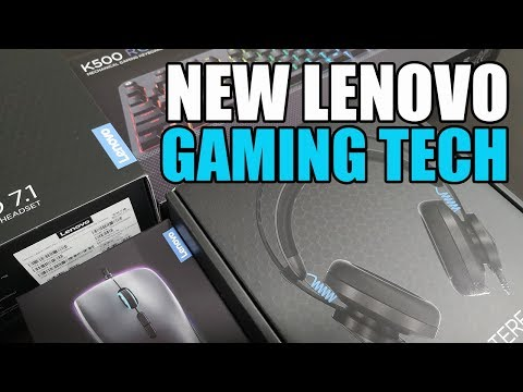 Lenovo Gaming Suite Unboxing - H300, H500, M500, K500