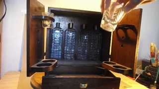 1950s Mid Century Open Sesame Liquor Cabinet Wonder Bar