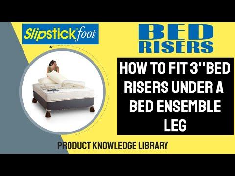 Slipstick CB652 3in Bed Riser Installation