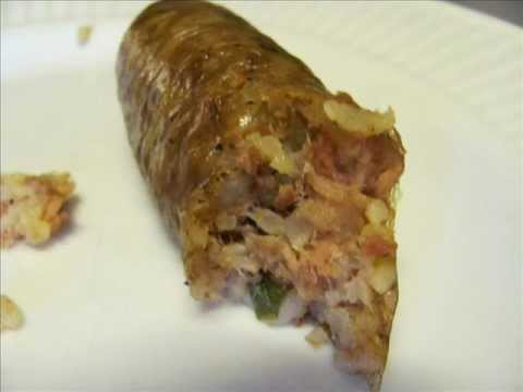 Smoked Boudin Sausage Recipe Below Youtube