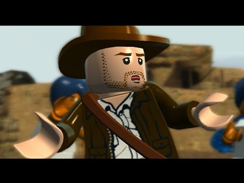 LEGO Indiana Jones 2 - All Cutscenes