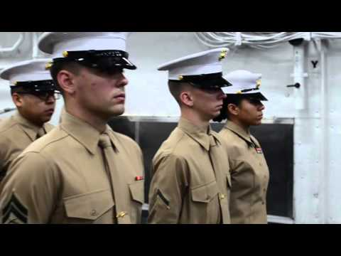 Secretary of State John Kerry visits USS San Antonio (LPD 17)