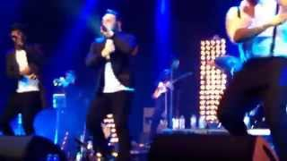 Blue - Hang On In There Baby live on Roundhouse 29th march 2015