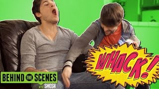 IAN BREAKS ANTHONY'S BALLS (BTS)