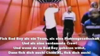 2pac Hit em up +  übersetzung (german) ** Lyrics on Screen ** Video