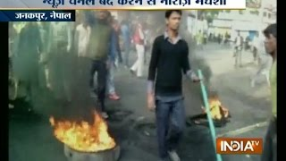 Nepal: People Protest Over Banning Indian News Channels