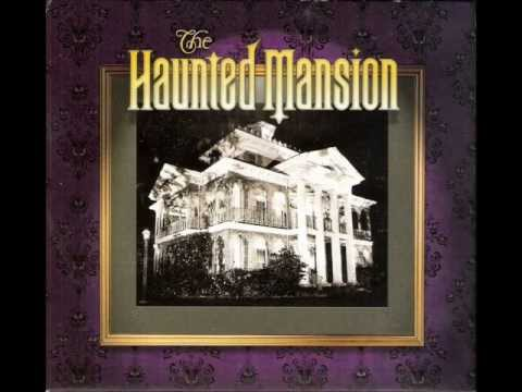 The Haunted Mansion (ride-through music/sfx/voice with picture slideshow)