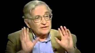 """Noam Chomsky on """"Charlie Rose"""" (2003)"""