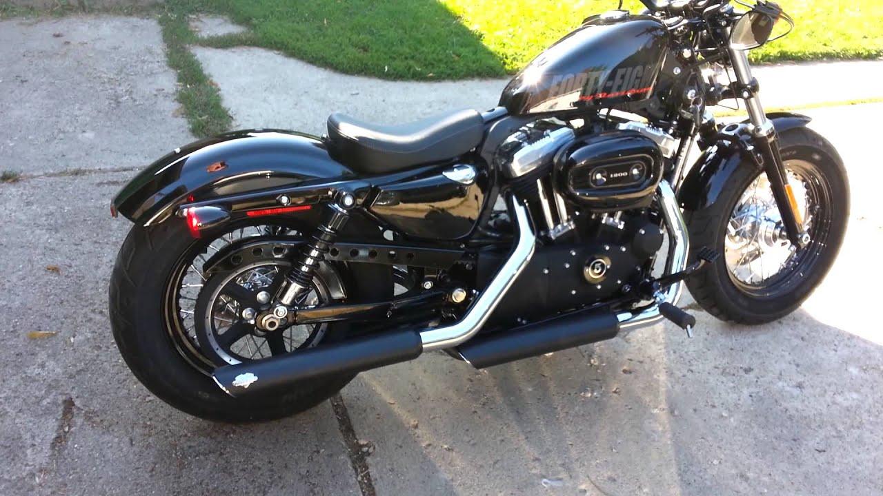 2013 Harley-Davidson 1200XL Sportster 48'. - YouTube