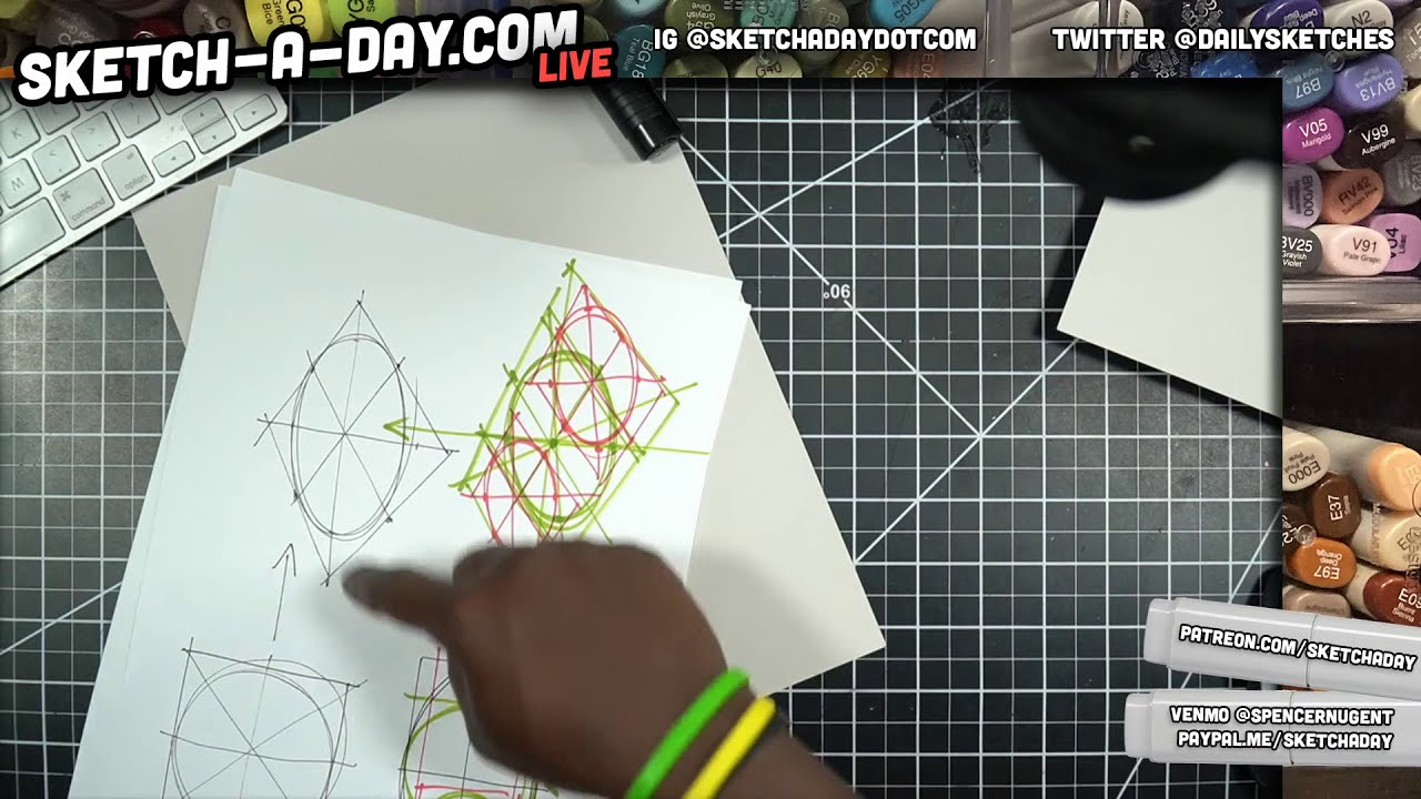 LIVE: Industrial Design Sketching by Sketch A Day