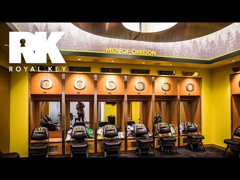 We Toured the Oregon Ducks\' Sneaker-Filled Basketball Facility | The Royal Key