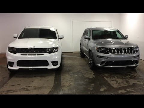 2017 Jeep Grand Cherokee Srt8 Changes Vs 2016 Model