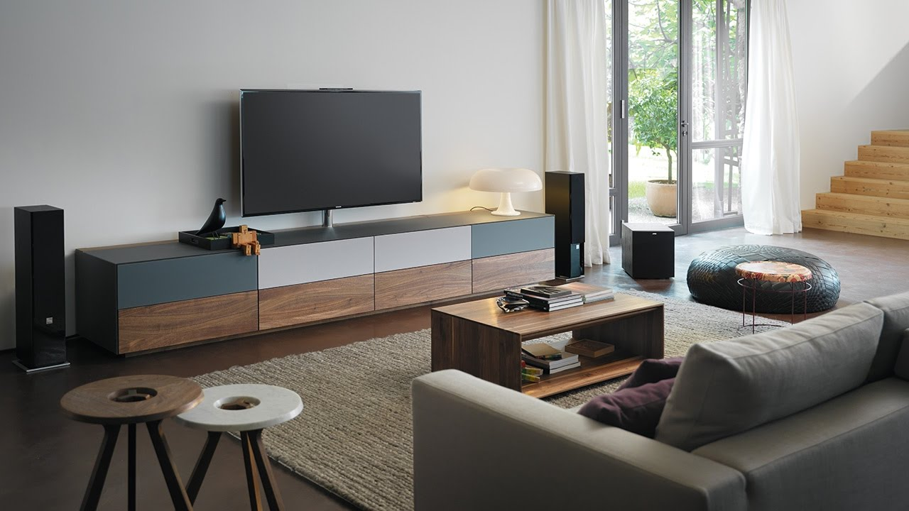 Team 7 schlafzimmer  TEAM 7 cubus pure Home Entertainment, lux Couchtisch - YouTube