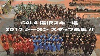 GALA湯沢スキー場スタッフ募集!!