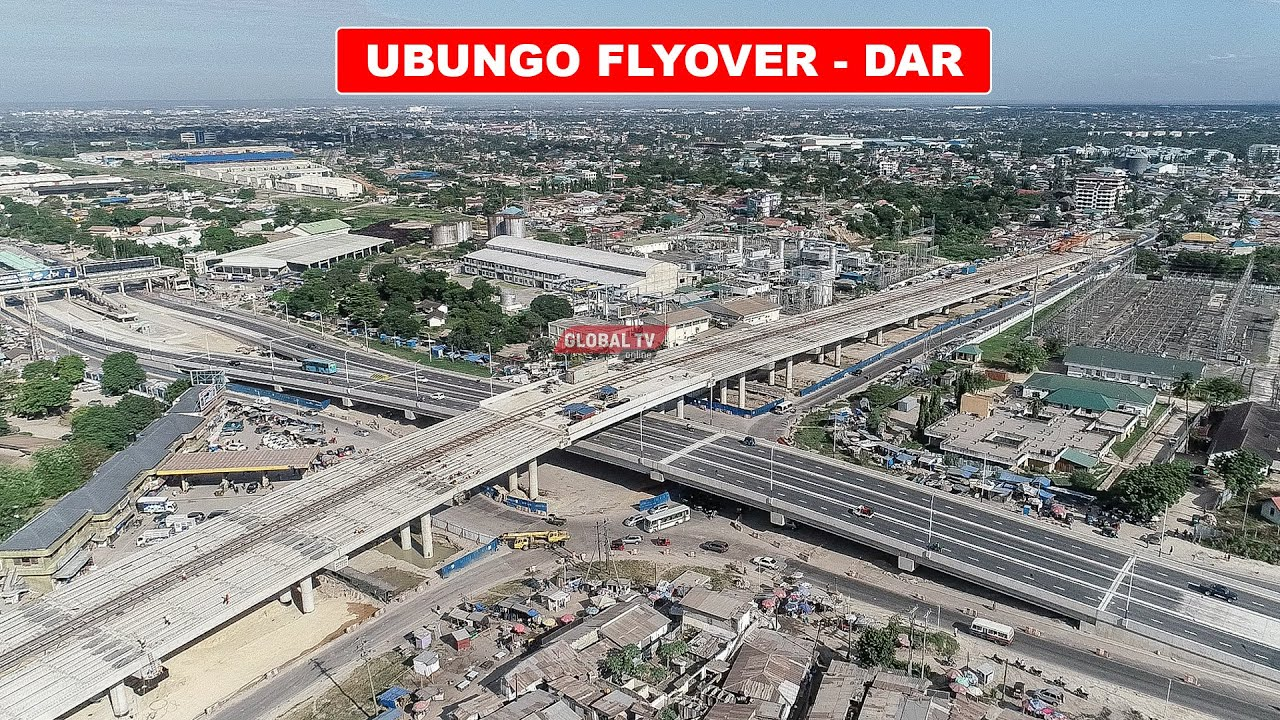 Dar es Salaam's Ubungo Interchange Partially Opened To Traffic As It Nears Completion