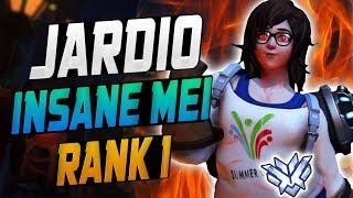 Unstoppable Carry Mei - Jardio! [ OVERWATCH SEASON 11 TOP 500 ]