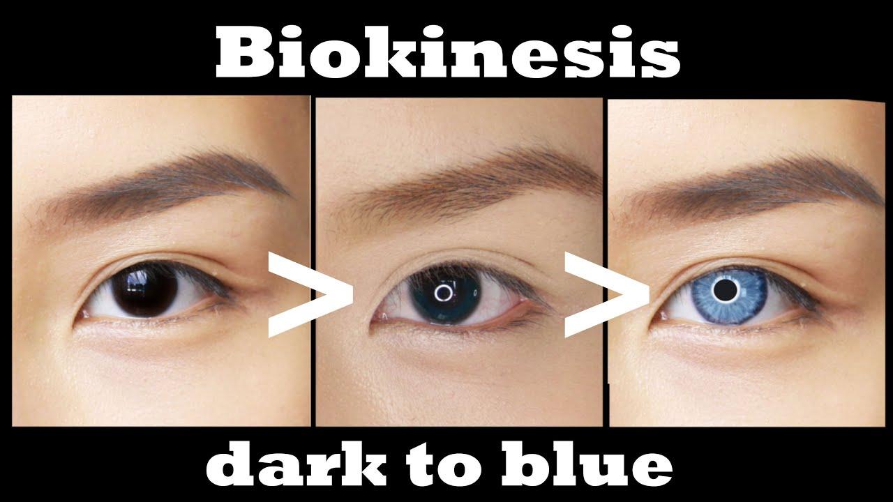 Biokinesis Olhos Azuis ☆ Ojos Azules ☆ Mudar A Cor Do Olho Youtube