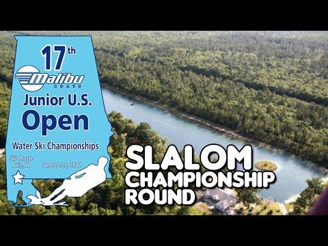 2017 Malibu Boats U.S. Junior Open: Slalom Championship Round