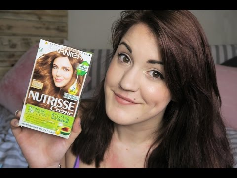 DYING MY HAIR: GARNIER NUTRISSE CREME REVIEW