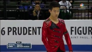 2016 U.S. Nationals - Nathan Chen SP NBC