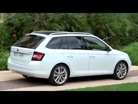 2016 skoda fabia combi interior and exterior driving review start up road test youtube. Black Bedroom Furniture Sets. Home Design Ideas