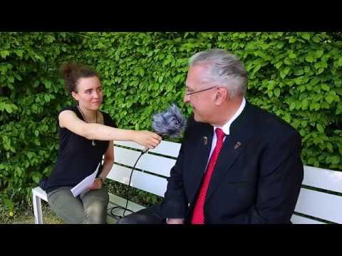Joachim Herrmann Interview - Schlossgartenfest 2018