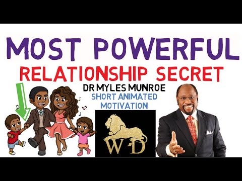 😱😱FORGET IT, LOVE WON'T DO IT - THIS IS WHAT YOU REALLY NEED - DR MYLES MUNROE