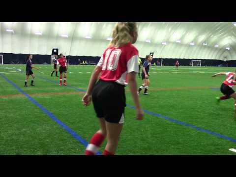 2017 OPDL Girls U14 Burlington Bayhawks vs North Toronto Exhibition