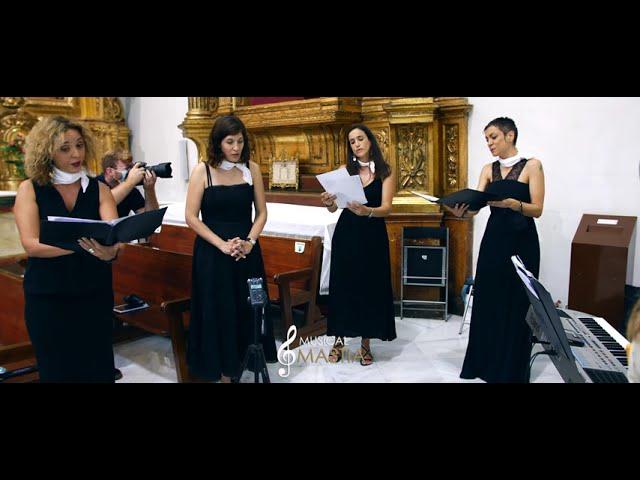Ave Maria 💒 | Coros para Bodas | Cantante para Bodas | Musical Mastia