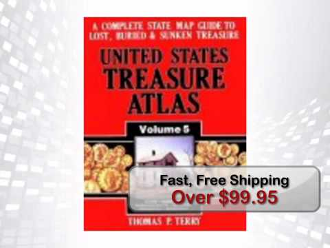 United States Treasure Atlas Volume 5 by Thomas P. Terry - metaldetector.com