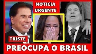 Triste noticia no SBT: aos 88 anos Querido apresentador Silvio Santos preocupa o Brasil.