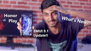 Official EMUI 9.1 Update for Honor Play!! Full Review!! What's New!!