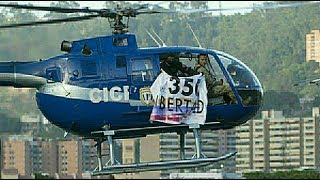 Venezuelan police use stolen helicopter in attack on gov't buildings
