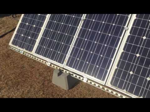 Off grid solar update. New array, pergola, and a quick chat