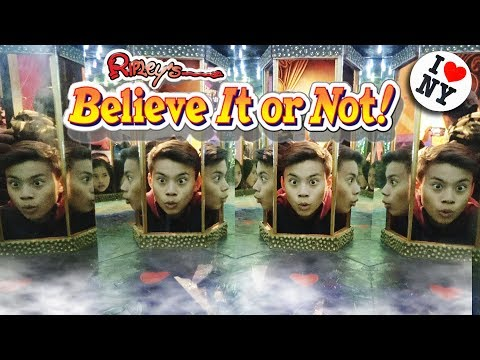 RIPLEYS BELIEVE IT OR NOT!!! Strangest Museum in New York City! Times Square