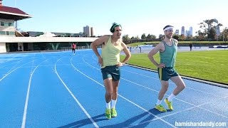 Taking on Michelle Jenneke
