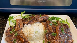 The Best Honey Teriyaki & Toasted Sesame... Beef SHORTRIBS!! Indoor Smokeless Grilling at its Finest