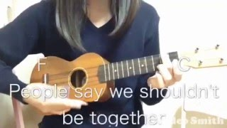 They don't know about us 'One Direction' Ukulele Cover