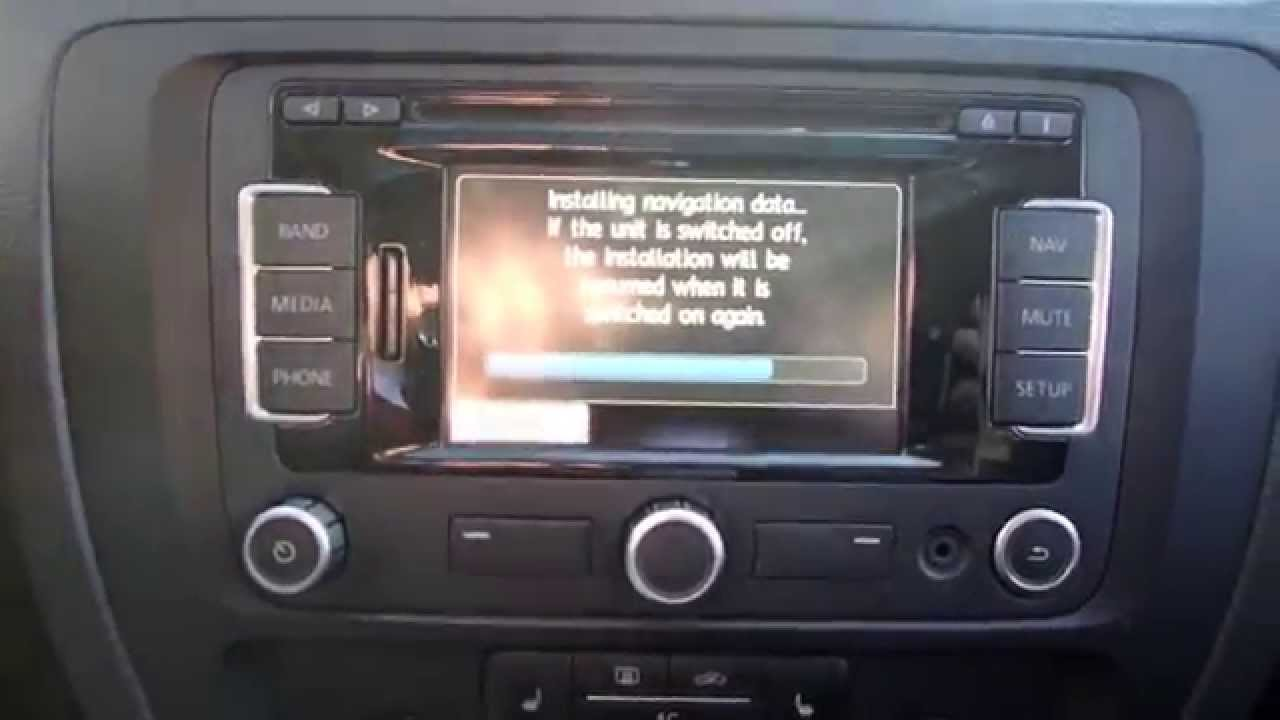 how to update your vw gps maps youtube