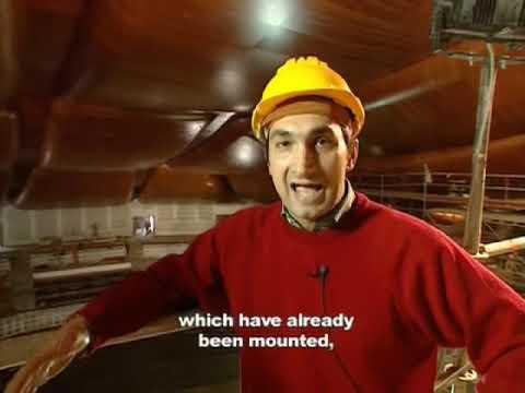 Renzo Piano Il Parco della Musica di Roma.  2° Part. English Subtitles. Video by Teresa de Vito
